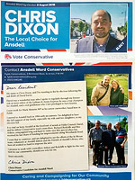 Chris Dixon Conservative Leaflet