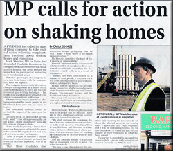 MP Calls for action