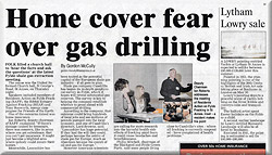 Home Cover Gas Fear