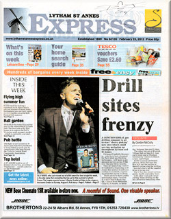 Drill Sites Frenzy