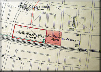 Map of Corporation Land