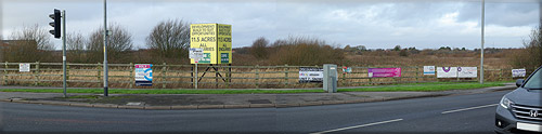 Signs at the Queensway /  Kilnhouse Road Junction St Annes